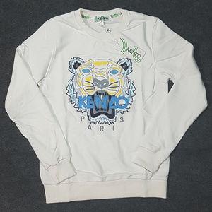 sweatshirt kenzo white